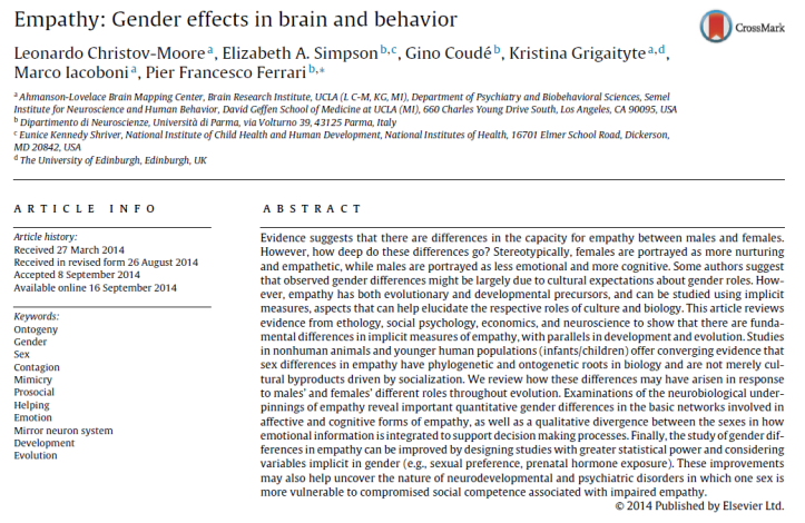 Empathy - Gender effects in brain and behaviour.png